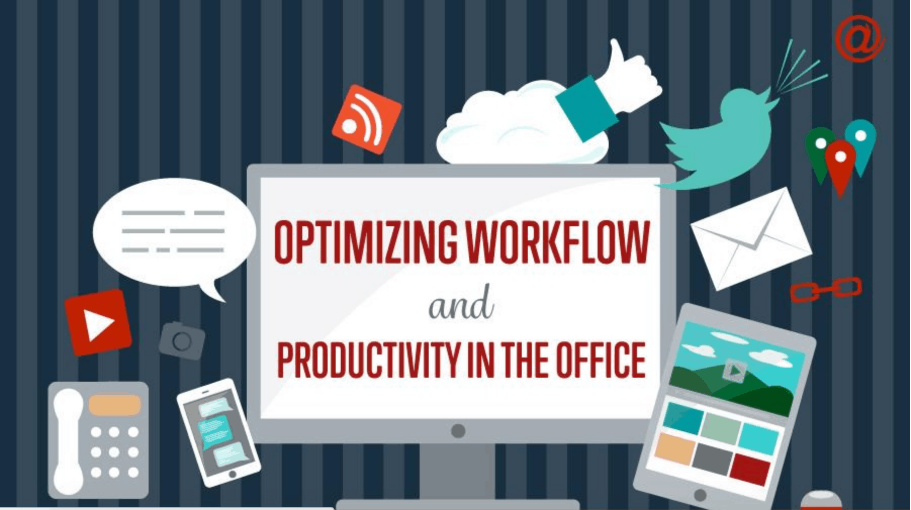 optimize workflow in the office